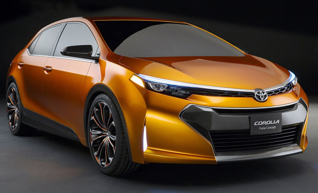 The Toyota Corolla Furia concept has been unveiled at the 2013 Detroit Motor Show