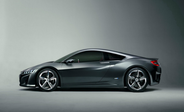 Is this the production-ready Honda NSX?