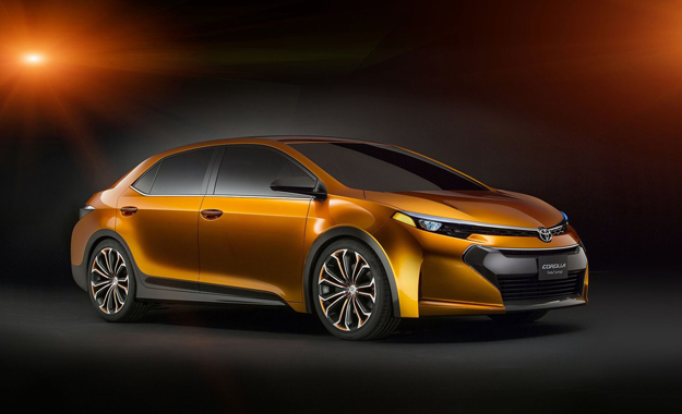 The Toyota Furia Concept hints at the company's intention to inject some visual verve into its future products