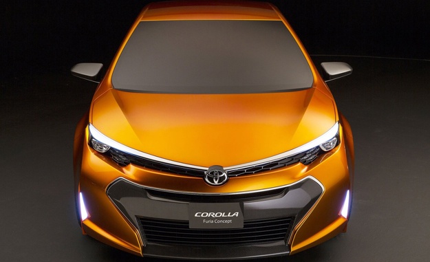 The front grille/headlamp swathe mirrors that of the new Toyota Auris