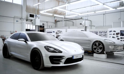 The design process of the Porsche Panamera Sport Turismo