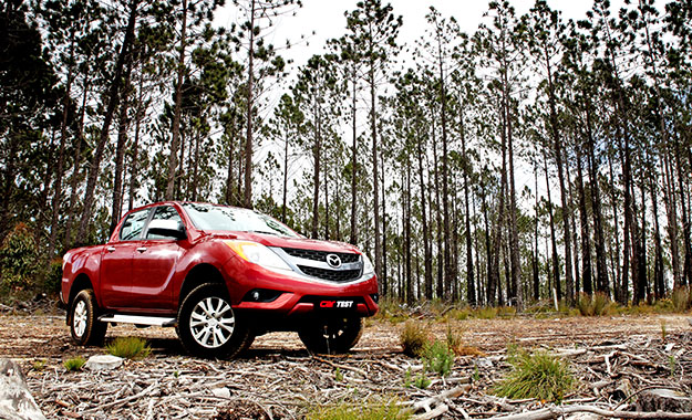 Mazda BT-50 front view