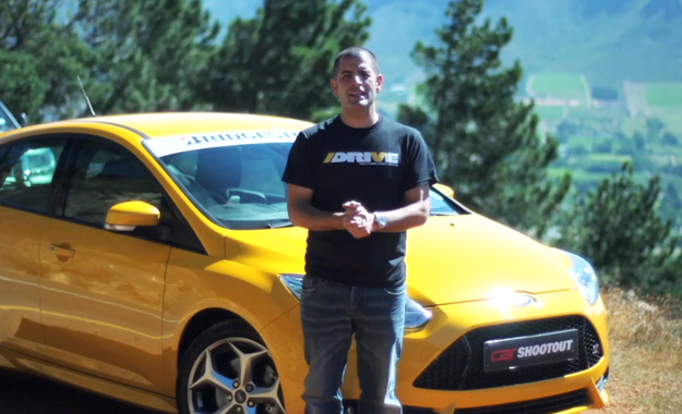 Shootout 2013: Ford Focus ST and Chris Harris