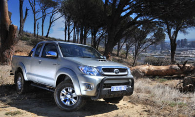 Toyota Hilux front view