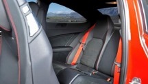 Mercedes-Benz C63 AMG Black Series rear seats