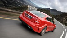 Mercedes-Benz C63 AMG Black Series rear view
