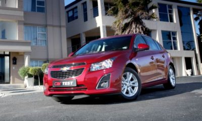 Chevrolet Cruze Hatch front view