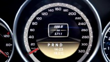 Mercedes-Benz C63 AMG Black Series speedometer