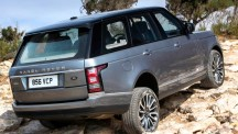 Range Rover rear view