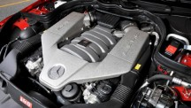 Mercedes-Benz C63 AMG Black Series engine