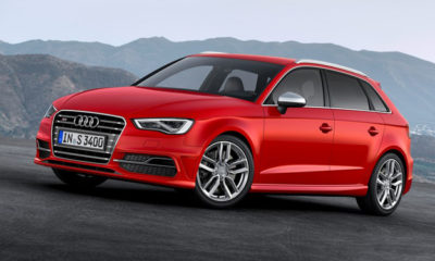 The 2013 Audi S3 Sportback has been revealed ahead of its Geneva Motor Show debut