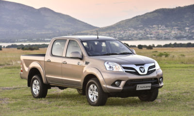 Foton has added a pair of 4x2 models to its Tunland double-cab pickup range