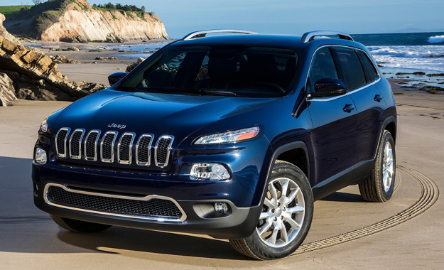 Jeep has lifted the wraps off its controversially styled new Cherokee