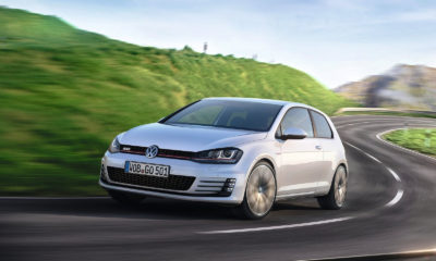The new Volkswagen Golf 7 GTI has been revealed ahead of its Geneva Motor Show unveiling