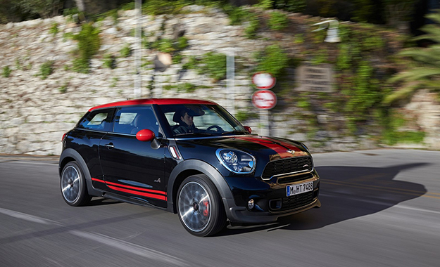 The Mini JCW Paceman will make its official debut at this year's Geneva Motor Show