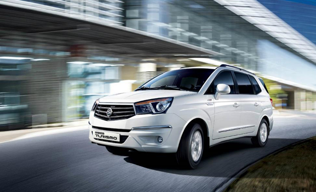 The new SsangYong Stavic will be more conventionally styled than its forebear