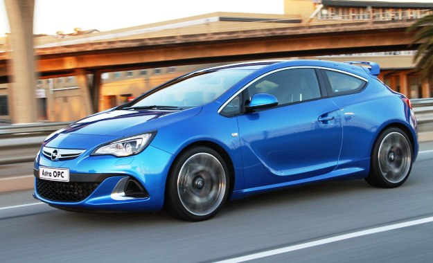 Opel astra opc 0-100
