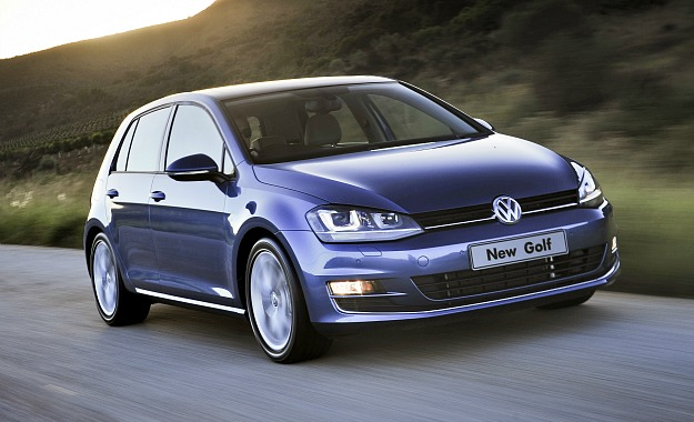 New Golf is lower, wider and longer than its predecessor. It's also about 100 kg lighter.