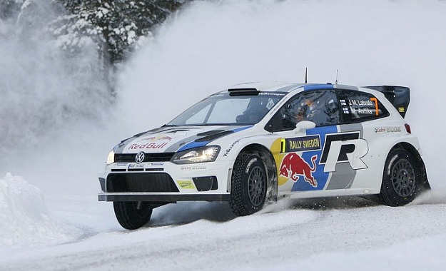 Ogier lands VW's maiden WRC win