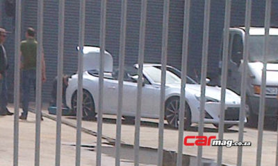 The Toyota 86 Convertible has been spotted in Cape Town