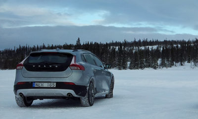 Raised ride height and plastic cladding lend the Volvo V40 Cross country a purposeful air