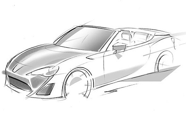 Toyota's upcoming FT-86 Open concept could hint at the production of a Toyota 86 Convertible