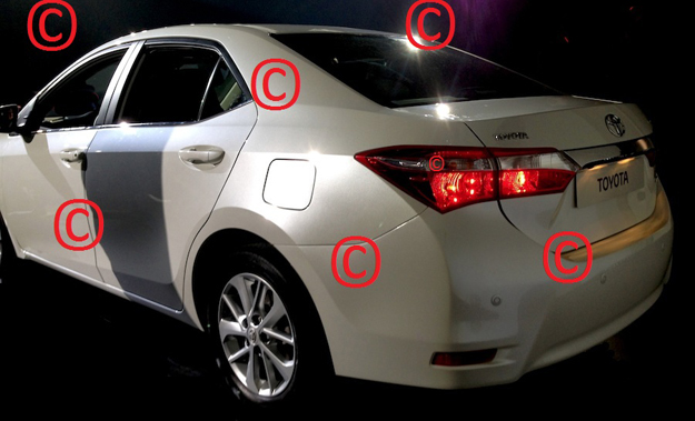 Could this be the 2014 Toyota Corolla?