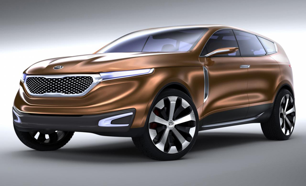 Kia has revealed its Cross gt Concept - a study that outlines the firm's future design idiom