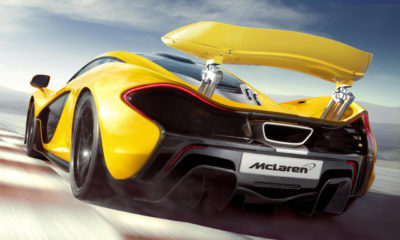 Images of the production-spec McLaren P1 have emerged ahead of the car's official debut at the Geneva Motor Show