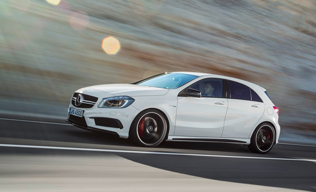 The Mercedes-Benz A45 AMG will arrive here by September