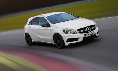 Mercedes-Benz has released its first promotional video of the A45 AMG
