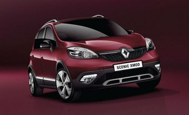 Renault has revealed its Scénic XMOD ahead of the Geneva Motor Show