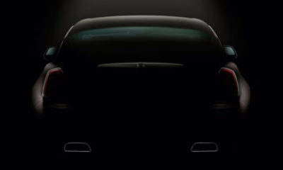 Rolls-Royce has released another image of its Wraith coupe showing the rear detailing