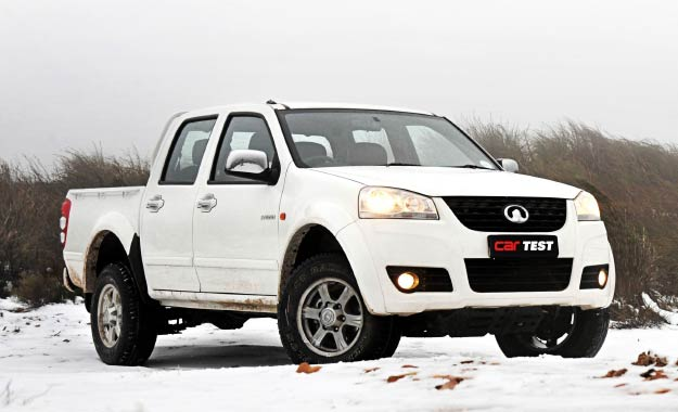GWM Steed 5 front view