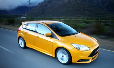 Ford Focus ST3 front view