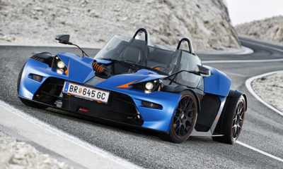 KTM will show off its road-legal X-Bow GT at this year's Geneva Motor Show
