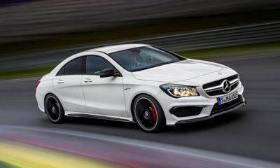 Images of the Mercedes-Benz A45 AMG have emerged ahead of the car's New York Motor Show debut