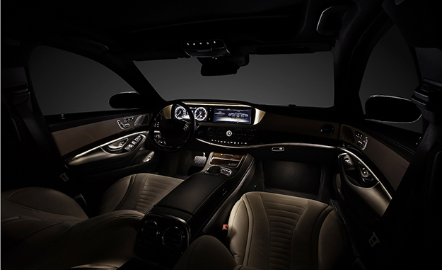Mercedes has lifted the wraps off the interior of the 2014 S-Class