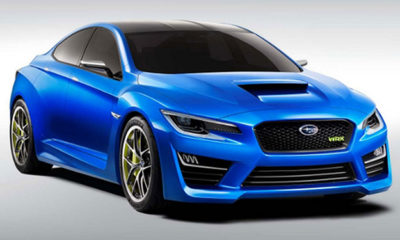 images of what appears to be a Subaru WRX concept have leaked onto the 'web