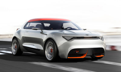 Kia has given us a glimpse of its Provo concept ahead of this year's Geneva Motor Show