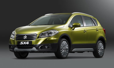 Suzuki unveiled its new SX4 compact crossover at the Geneva Motor Show