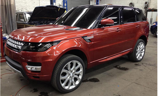 Photos of the 2013 Range Rover Sport have hit the 'web