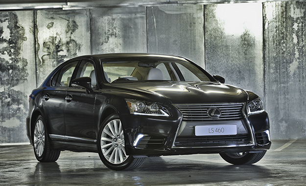 The 2013 Lexus LS460 has arrived in South Africaq