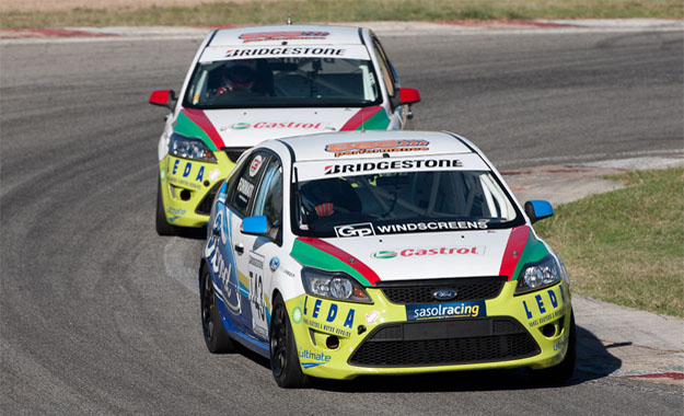 Gary Formato and Shaun Duminy at Kyalami