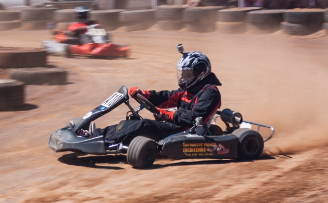 Who Buys Used Cars >> Oval Dirt Karting - CAR magazine