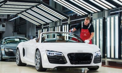 Audi R8 Production in Neckarsulm