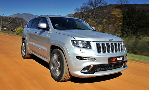 Jeep Grand Cherokee SRT8 front view