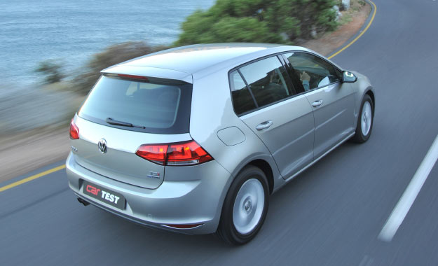 Multilink rear suspension plays a role in providing the Golf 7 with class-leading ride and comfort levels.
