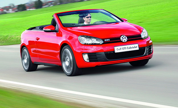 Volkswagen is giving its Mk VI Golf GTI a cabriolet-flavoured last hurrah