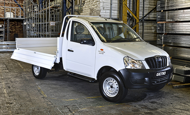 The Genio drop-side has a 1 250 kg payload capacity